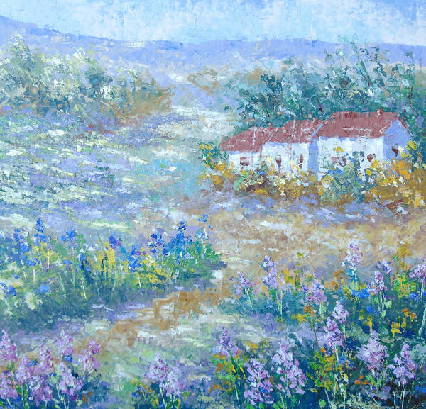 Painting - Village De Provence by Frederic Payet