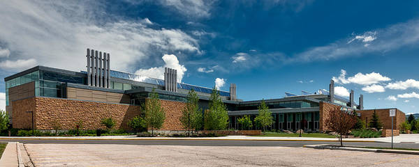 Laramie Photograph - Visual Arts Building - University Of Wyoming by Mountain Dreams