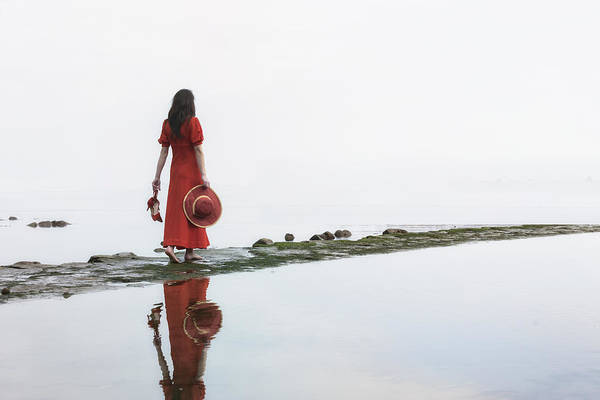 Wall Art - Photograph - Walking Into The Sea by Joana Kruse