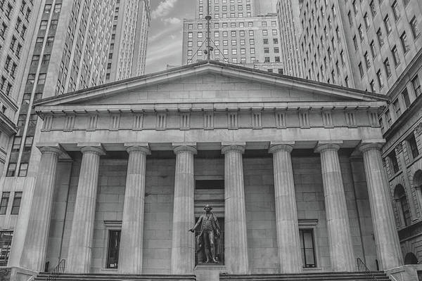 New York Stock Exchange Wall Art - Photograph - Wall Street by Martin Newman
