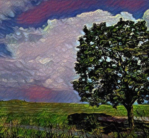 Digital Art - Watercolor Hadley Michigan by Artful Oasis