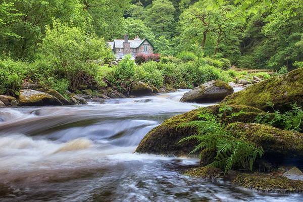 Exmoor Photograph - Watersmeet House - England by Joana Kruse
