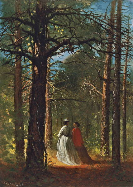Wall Art - Painting - Waverly Oaks by Winslow Homer