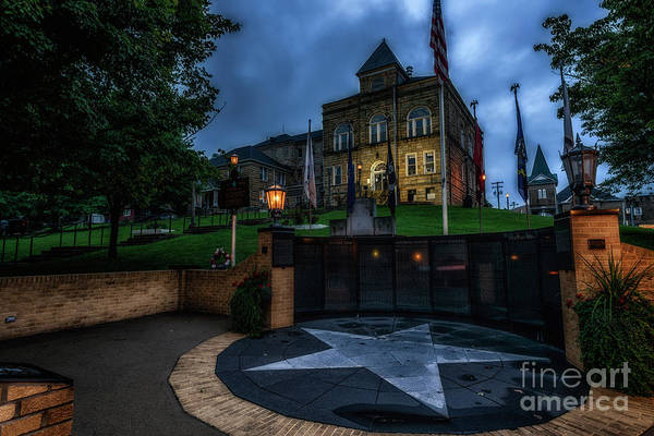 Photograph - Webster County Courthouse by Thomas R Fletcher