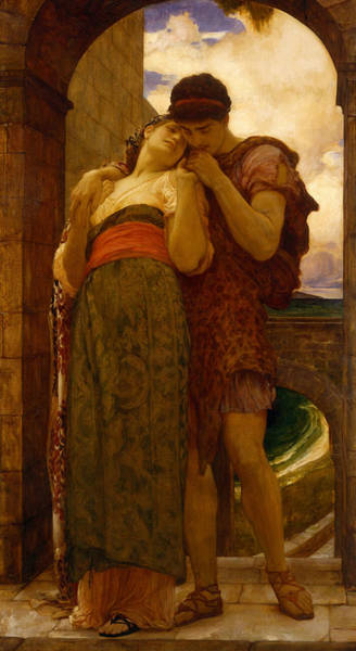 Wall Art - Painting - Wedded by Frederic Leighton