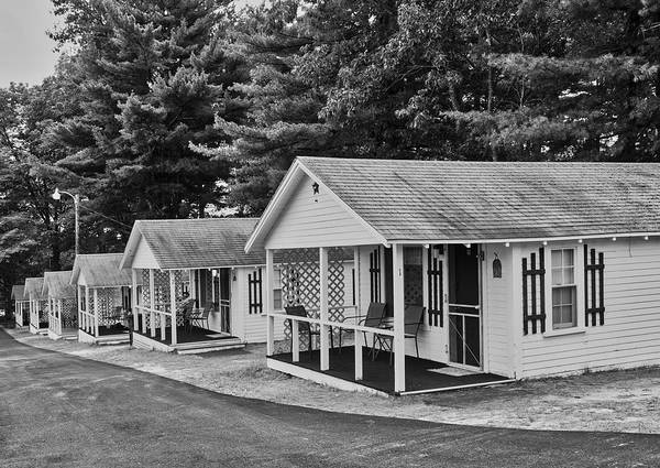 Wall Art - Photograph - Weirs Beach Tourist Cottages by Mountain Dreams