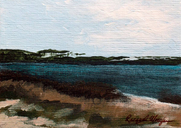Gulf State Park Painting - Western Lake by Racquel Morgan
