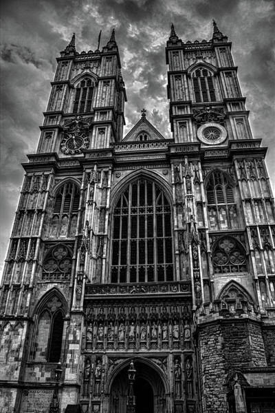 St Martin Photograph - Westminster Abbey by Martin Newman