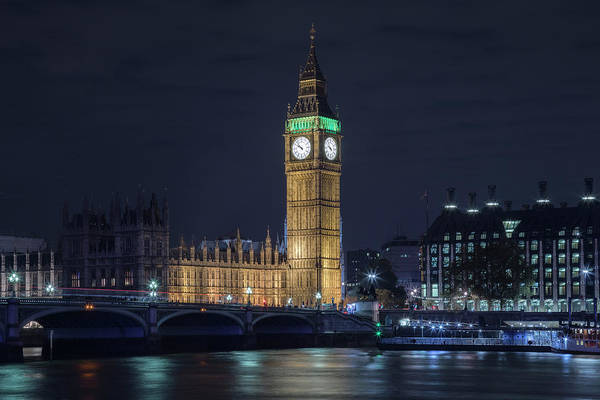 Westminster Bridge Photograph - Westminster - London by Joana Kruse