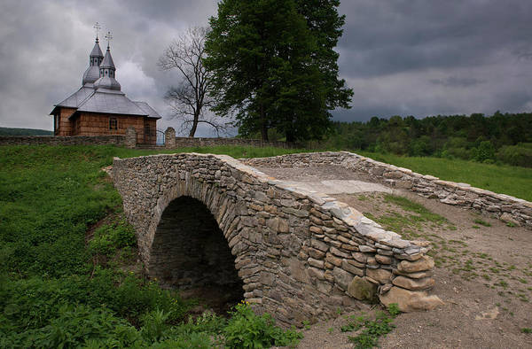 Wall Art - Photograph - Wooden Church In Olchowiec by Jaroslaw Blaminsky