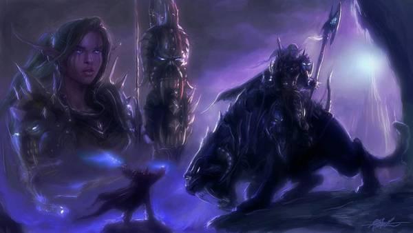 Fantasy Digital Art - World Of Warcraft by Maye Loeser