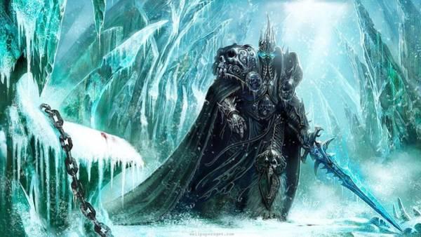 World Of Warcraft Wall Art - Digital Art - World Of Warcraft Wrath Of The Lich King by Dorothy Binder