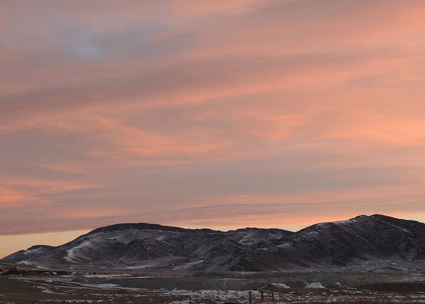 Photograph - Wyoming Sunrise by Andrew Chambers