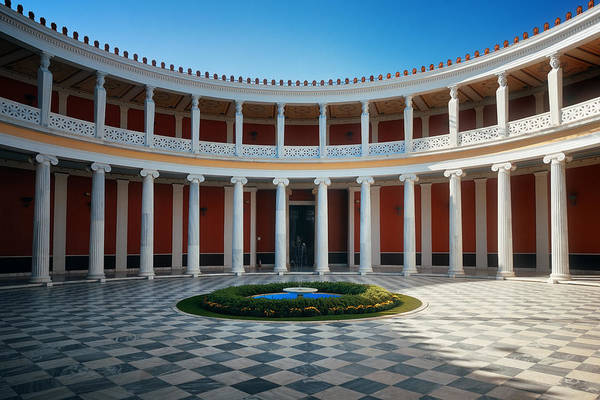Photograph - Zappeion Hall by Songquan Deng