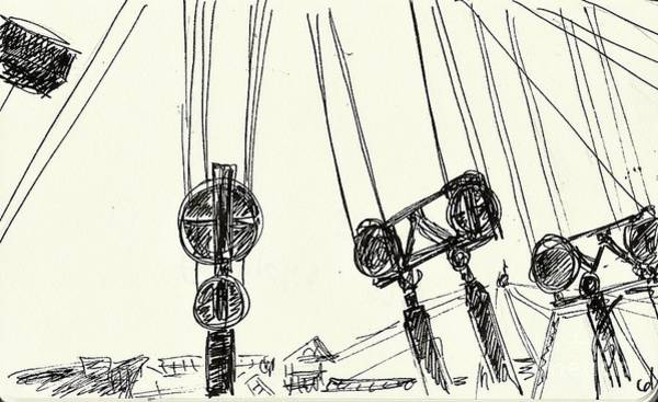 Drawing - Ferropolis by Chani Demuijlder