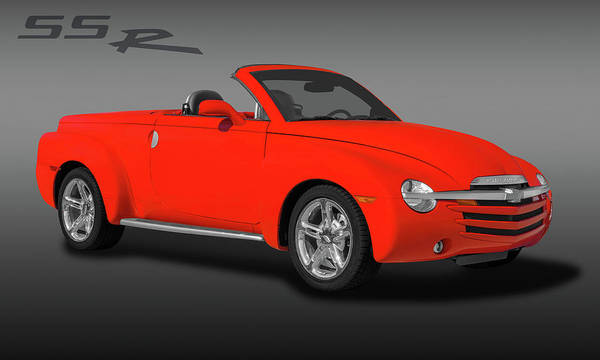 Wall Art - Photograph - 2005 Chevrolet Ssr - Super Sport Roadster  -  2005chevyssrlogo173401 by Frank J Benz