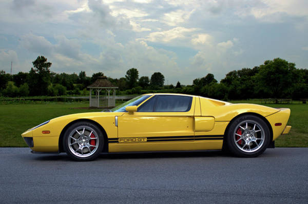 Photograph - 2005 Ford Gt by Tim McCullough