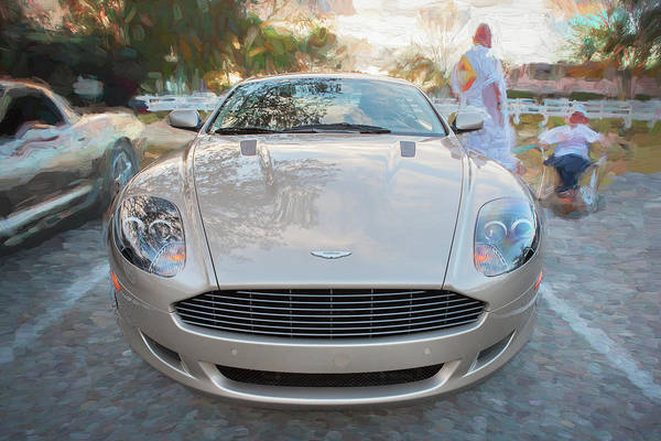 Photograph - 2007 Aston Martin Db9 Coupe Painted C306 by Rich Franco
