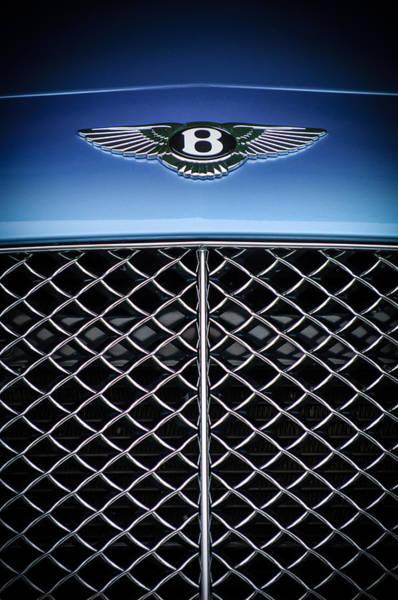 Photograph - 2007 Bentley Continental Gtc Convertible Hood Ornament by Jill Reger