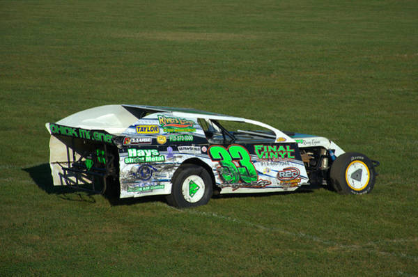 Photograph - 2008 Late Model Stock Car by Tim McCullough