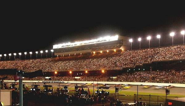 Photograph - 2009 Coke Zero 400 At Daytona International Speedway by Jamie Baldwin