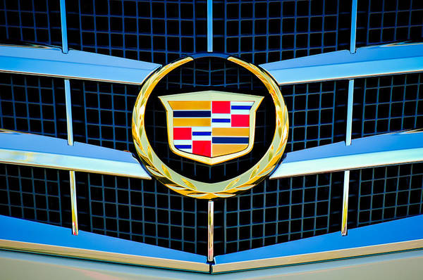Cts Photograph - 2011 Cadillac Cts Performance Collection Emblem -0584c by Jill Reger