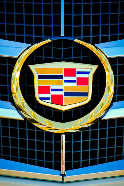 Cts Photograph - 2011 Cadillac Cts Performance Collection Emblem -0584c46 by Jill Reger