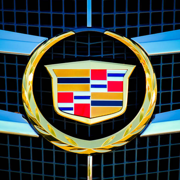 Wall Art - Photograph - 2011 Cadillac Cts Performance Collection Emblem -0584c55 by Jill Reger
