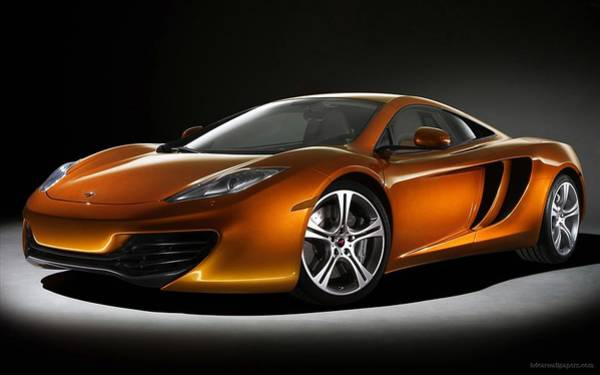 Wall Art - Digital Art - 2011 Mclaren Mp4 12c by Mery Moon