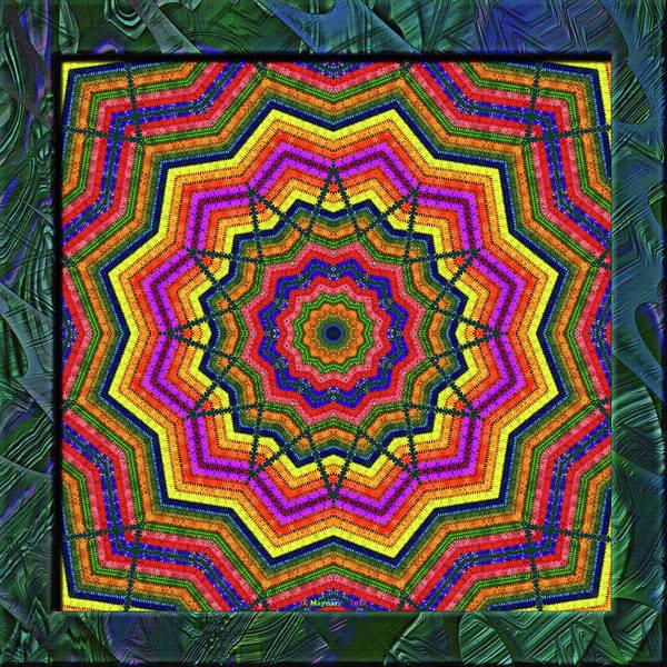 Crochet Digital Art - 20110404-stars-into-k12-v06 by Danny Maynard