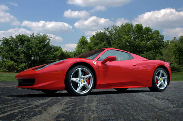 Photograph - 2012 Ferrari 458 Spider by Tim McCullough