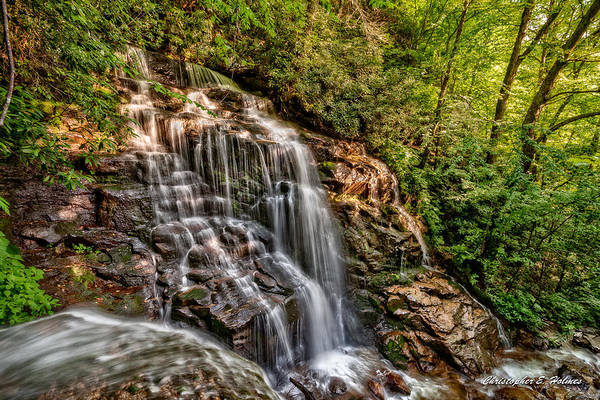 Wall Art - Photograph - Secluded Falls by Christopher Holmes