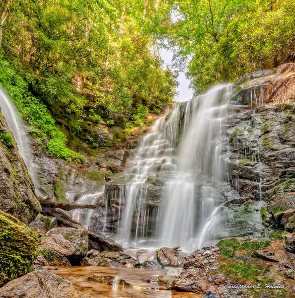 Wall Art - Photograph - Rocky Falls by Christopher Holmes