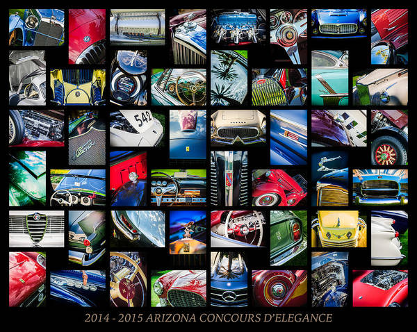 Photograph - 2014 - 2015 Arizona Concours D'elegance Art -03 by Jill Reger
