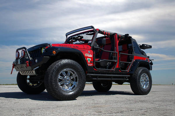 Photograph - 2014 Jeep Custom Wrangler Rubicon by Tim McCullough