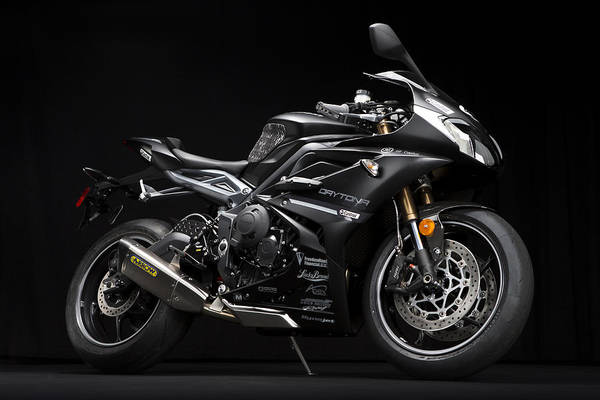 Photograph - 2014 Triumph Daytona 675 Disalvo Edition by Keith May