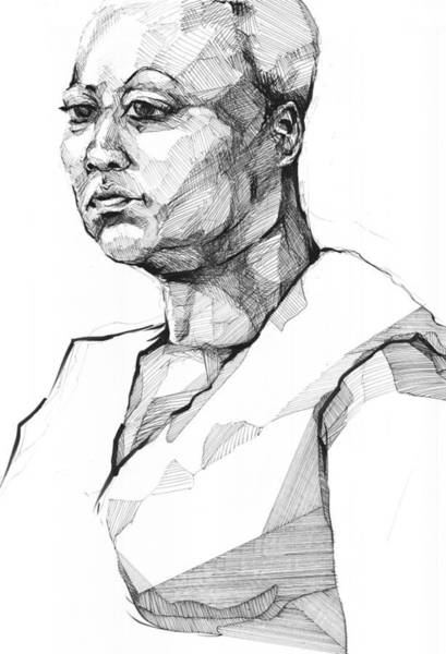 Drawing - 20140101 by Michael Wilson