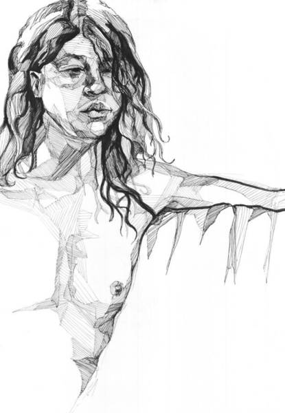 Drawing - 20140106 by Michael Wilson