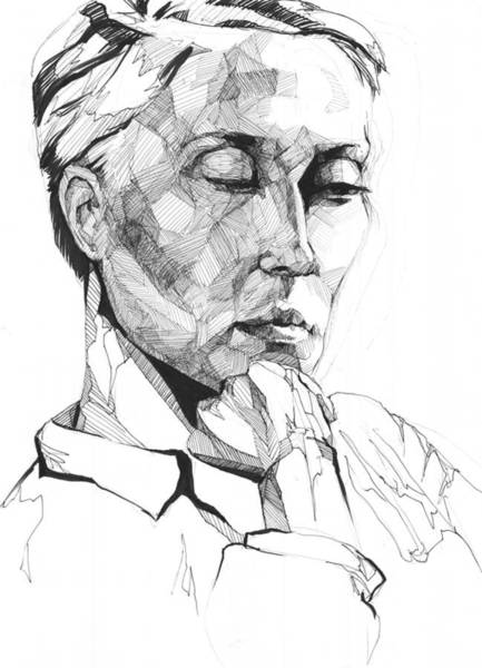 Drawing - 20140109 by Michael Wilson