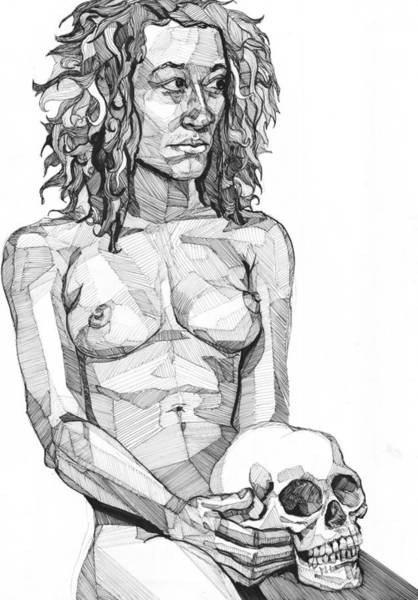 Drawing - 20140116 by Michael Wilson