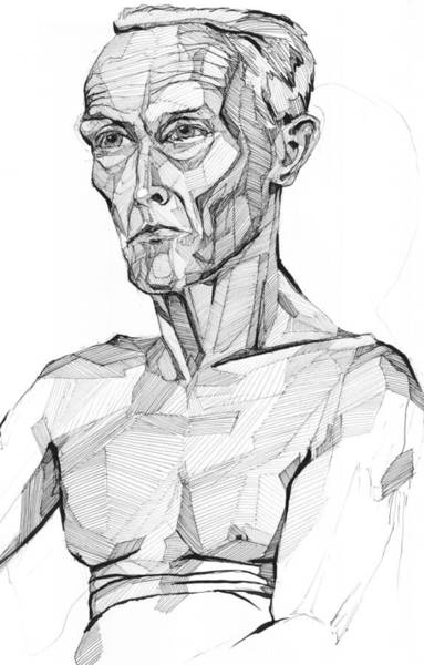 Drawing - 20140117 by Michael Wilson