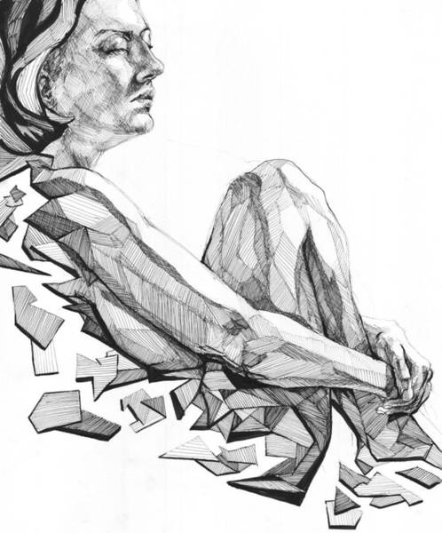 Drawing - 20140122 by Michael Wilson