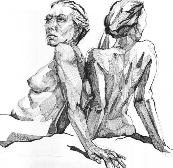 Drawing - 20140123 by Michael Wilson