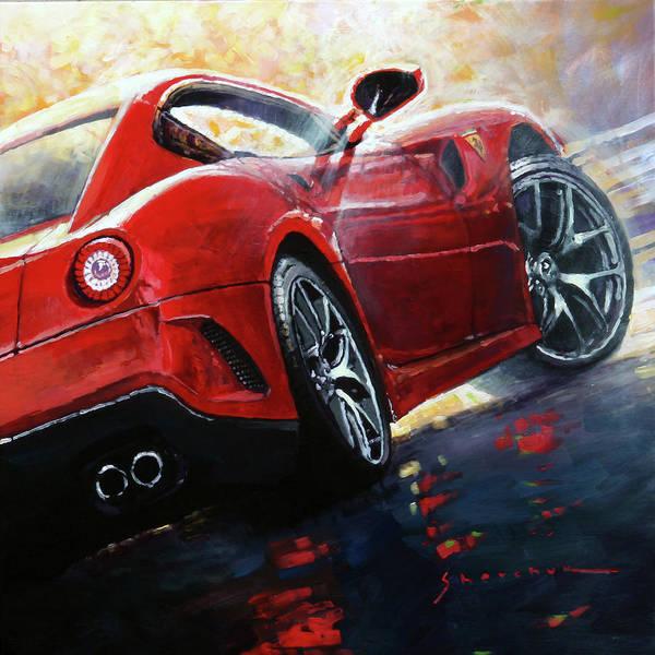 Wall Art - Painting - 2015 Ferrari 599 Gtb Fiorano by Yuriy Shevchuk