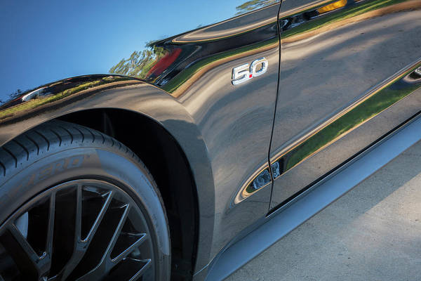 Photograph - 2015 Ford Mustang Gt   by Rich Franco
