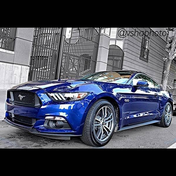 Wall Art - Photograph - 2015 #ford Mustang Gt 5.0l V8 Engine by Vadim Shamilov