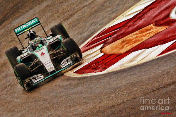 Photograph - 2015 Nico Rosberg Mercedes  by Blake Richards