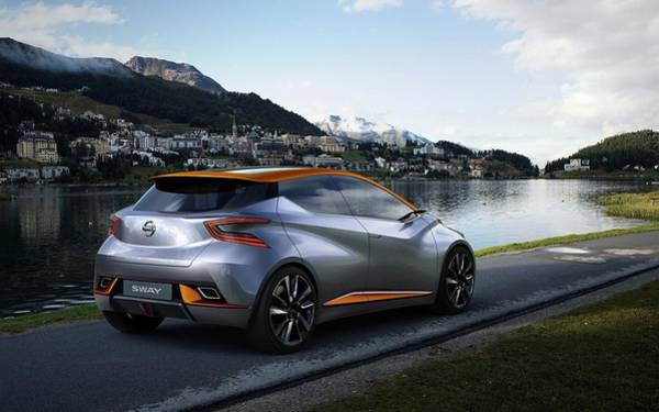 Nissan Digital Art - 2015 Nissan Sway Concept 3  1 by Mery Moon