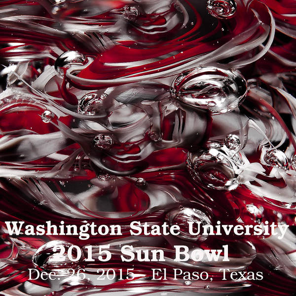 Photograph - 2015 Sun Bowl - Wsu Cougs by David Patterson