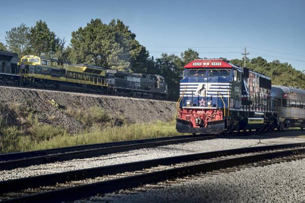 Norfolk Southern Railway Wall Art - Photograph - 2015 Tvrm Railfest 7 by Jim Pearson